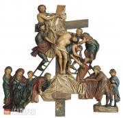 Неизвестный художник. Снятие со креста. XVIII век