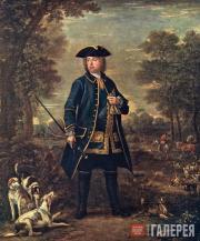 Джон Вуттон (Ок. 1682–1764) и Джонатан Ричардсон (1665–1745). Сэр Роберт Уолпол.