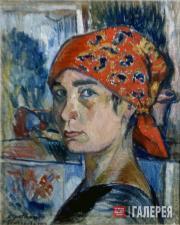 Наталия Гончарова. Автопортрет. 1907–1908