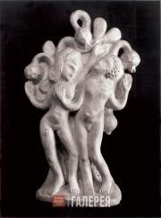 Архипенко Александр. Адам и Ева. Ок. 1909