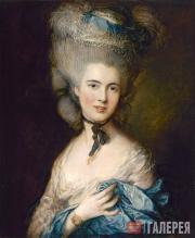Гейнсборо Томас. Дама в голубом. Около 1780