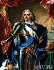 Шарль БОА. Портрет короля Польши Августа II