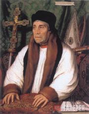Ганс Гольбейн Младший. Портрет Уильяма Уорхема, архиепископа Кентеберийского
