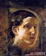 Голова Иоанна Богослова. 1863