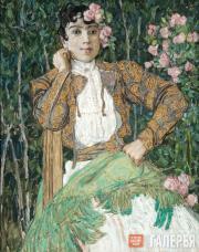 Испанка в зеленом. 1906–1907