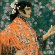 Испанка в красном. 1906–1907