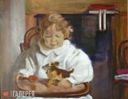Л.С.Бакст. Портрет Андрея Бакста. 1908