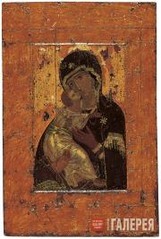 Неизвестный художник. Икона «Богоматерь Владимирская». Первая треть XII века
