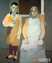 Художник с матерью. 1926–1936