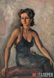 Александр Зигфрид Бурхард Леви-Бенуа ди Стетто. Женский портрет