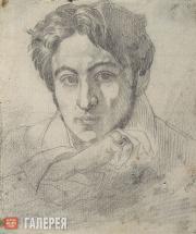 Бруни Федор. Автопортрет. 1835