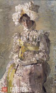 Врубель Михаил. Портрет Н.И. Забелы-Врубель. 1898