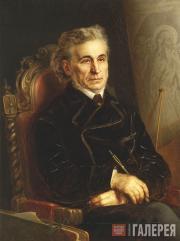 Горавский Аполлинарий. Портрет художника Ф.А. Бруни. 1871