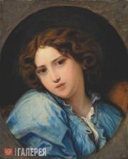 Бруни Федор. Портрет Н.А. Бруни в детстве. Конец 1840-х