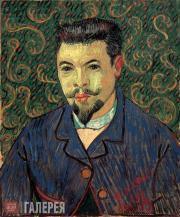 Винсент Ван Гог. Портрет доктора Феликса Рея. 1889