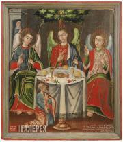 Маркиянович Василь. Троица (Гостеприимство Авраама). 1761