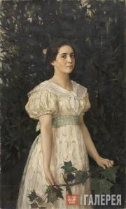 Васнецов Виктор. Портрет В.С. Мамонтовой. 1896