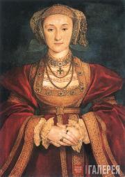Портрет Анны Клевской, жены Генриха VIII. 1539