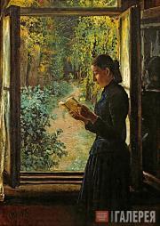 Портрет Н.И. Петрункевич. 1892–1893