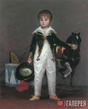 Франсиско ГОЙЯ. Хосе Коста-и-Бонелс, по прозвищу Пепито. 1813 (?)