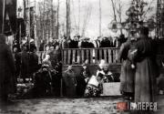 Церемония закладки храма свт. Алексия в Царском Селе. 11 марта 1914.
