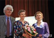Аллегра Маркевич-Шапюи, ее муж Кристоф и сестра Натали Маркевич-Фриден