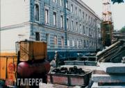 Строительство Музея личных коллекций. 1987 год