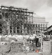 Cтроительство Музея изящных искусств имени императора Александра III