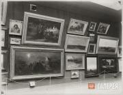 Экспозиция Третьяковской галереи.  Зал №4 с произведениями А.И. Куинджи, Г.Г. Мя