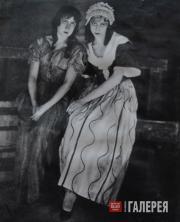 Сцена из спектакля «Сестры Жерар»