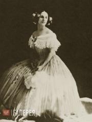 Анна Павлова в концертном номере «Приглашение к танцу» К. Вебера