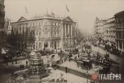 Площадь Пикадилли и Ковентри-стрит, Лондон. 1890-e