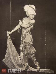 Флора Реваль в балете «Шехеразада» во время гастролей антрепризы Сергея Дягилева