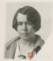 Вера Федоровна Румянцева. Сотрудник Государственной Третьяковской галереи