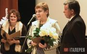 Лауреат премии имени П.М.Третьякова А.Б.Андреева (в центре)
