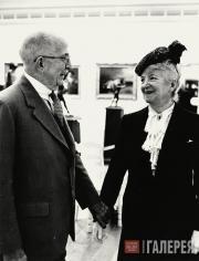 Стерлинг и Франсин Кларк в день открытия музея