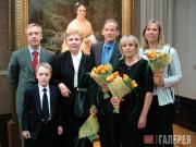 Сергей и Никита Фадеевы, Е.С.Хохлова, Алекс, Мэри и Грейс Зилоти