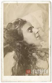 М.А. Оболенская на смертном одре. 1873