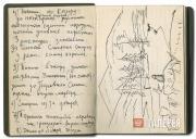 Записи и рисунки 1960 года из дневника П.Ф. Никонова