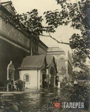 Главный вход  в Третьяковскую галерею. Конец 1930-х