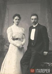 Елена Алексеевна и Валентин Асигкритович Балины. 1898