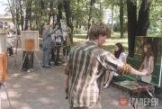 Студенты академии на практике в Санкт-Петербурге