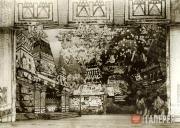 Град-столица. Декорация III действия оперы в постановке Большого театра (1909)
