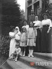 Семья Кузнецовых в Валь-Андре