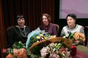 Слева направо: Н.В. Окуренкова, Е.А. Илюхина, С.А. Плешивцева