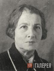 Мария Модестовна Колпакчи, Сотрудник Третьяковской галереи