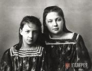 Анастасия (слева) и Марина Цветаевы. 1905