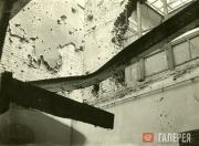 Залы №6 и №49. Разрушения после бомбардировок в ночь на 12 августа 1941 года