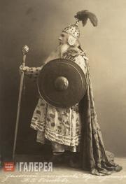 В.В. Осипов в роли царя Додона