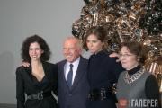 Молли Дент-Броклхёрст, Франсуа Пино, Дарья Жукова и Каролин Буржуа на пресс-конф